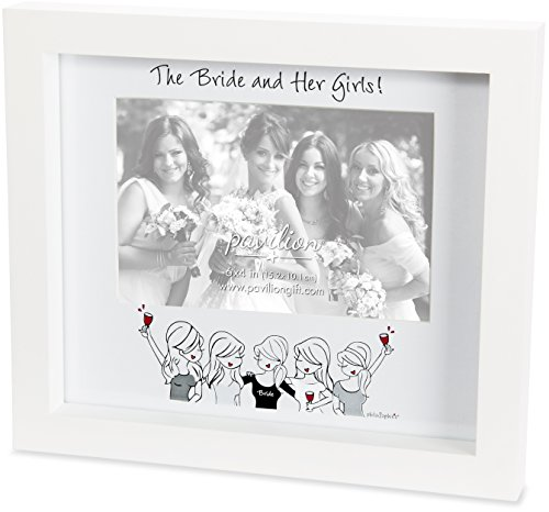 philoSophie's by Joanna Alberti Bride and Her Girls Wedding Picture (Girls Bridesmaids Frame)