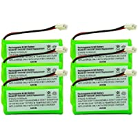 Axiom 6Pack Rechargeable Battery For V-Tech CS6209, CS6219, CS6219-2, CS6219-3, CS6219-4, CS6229-2, CS6229-9