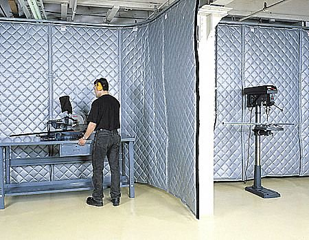Noise Reduc Panel,Strt,10x4x2 Fiberglass by Singer Safety