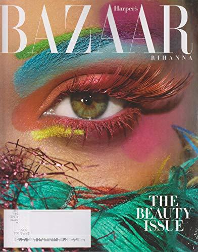 Harper's Bazaar May 2019 Cover: Rihanna's Eye - The Beauty - Covers Bazaar Magazine