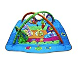 Guurachi Protective Safe Love Gymini Move and Play Activity Gym, Animals