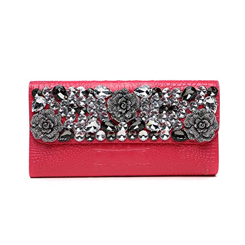 Fashion Sac Pochette avec de Bal Rouge Main fériés 10x6inch à Color Sacs Solid d'autres Enveloppe Classique Et soirée de Rouge Parti 25x15cm Jours soirée Amovible Chaîne pour r5Xrq
