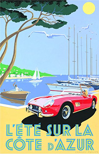 Indian Rangers Vintage Ferrari Poster 12 X 18 Inch Poster Amazon In Home Kitchen