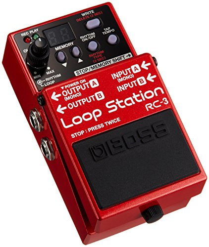 - BOSS Audio RC-3 Loop Station Pedal