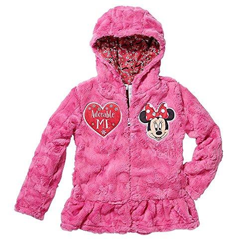 Disney Jr, Little Girls' Zip-Up Fleece Hoodie,6 (Hoodie Princess Fleece)