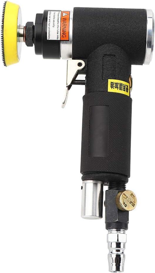 Pour Le Pon/çAge et Le Polissage AT-1500-2 Outils de Meulage Excentriques de Machine de Polissage de Ponceuse DAngle Pneumatique 90 Degr/éS Avec Une Plus Grande Pr/éCision Polisseur Tampon