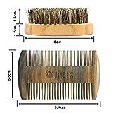 Beautyours-Natural-Green-Sandalwood-Beard-Comb-Bristle-Beard-Brush-Set-Pocket-Fine-Coarse-Teeth-Dual-Brush-for-Mustache-Anti-Static