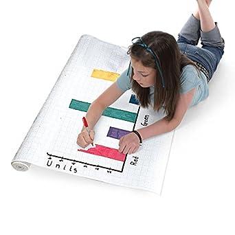 amazon com eta hand2mind 1 cm grid graph paper roll industrial