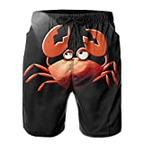 The Most Popular Style Star Crab Natural Elastic Walk Shorts For Swimmer
