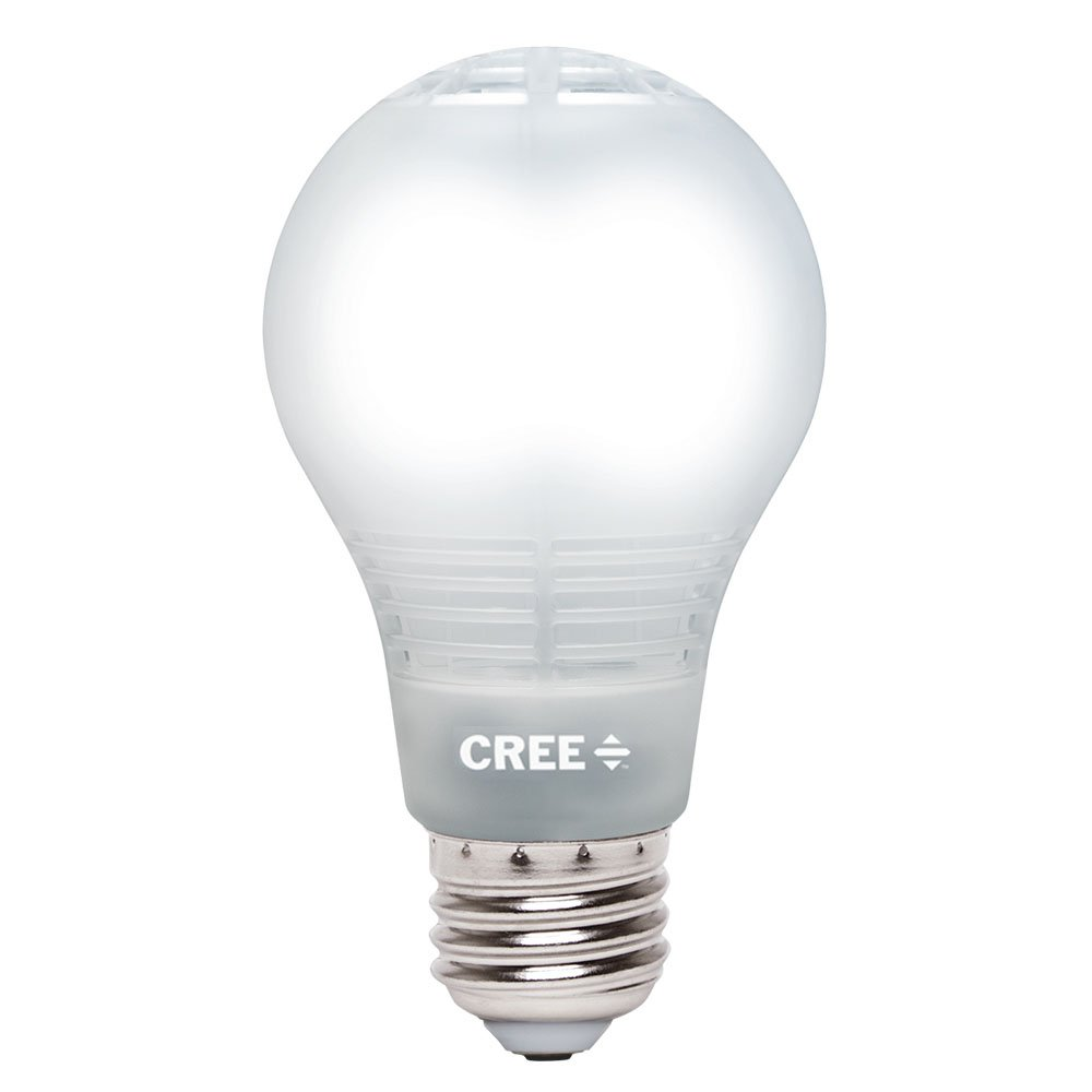 Led Light Bulbs 60w Equivalent: Cree BA19-08050OMB-12DE26-3_1 60W Equivalent 5000K A19 LED Light Bulb with  4Flow Filament Design, Daylight - - Amazon.com,Lighting