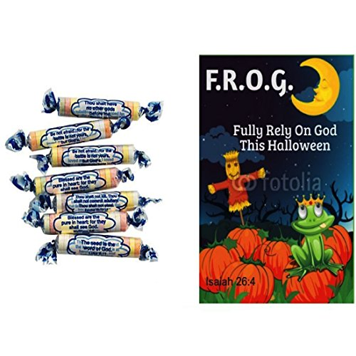 Tangy Tarts Scripture Candy With Fully Rely On God Halloween Bible Tracts (10 -