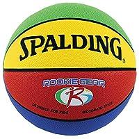 """Baloncesto de equipo novato Spalding - Multicolor - Tamaño juvenil (27.5 """")"""