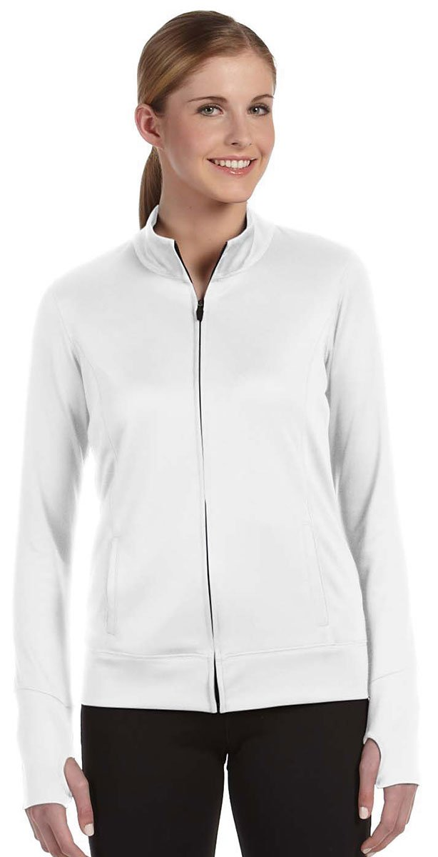 All Sport Ladies Lightweight Jacket, XL, White