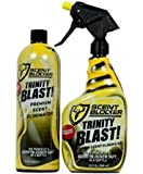 ScentBlocker Trinity Blast Combo with Sprayer Plus Refill, 64-Ounce, Yellow