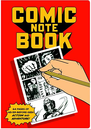 Comics Passport Sized Notebook - By The Unemployed Philosoph