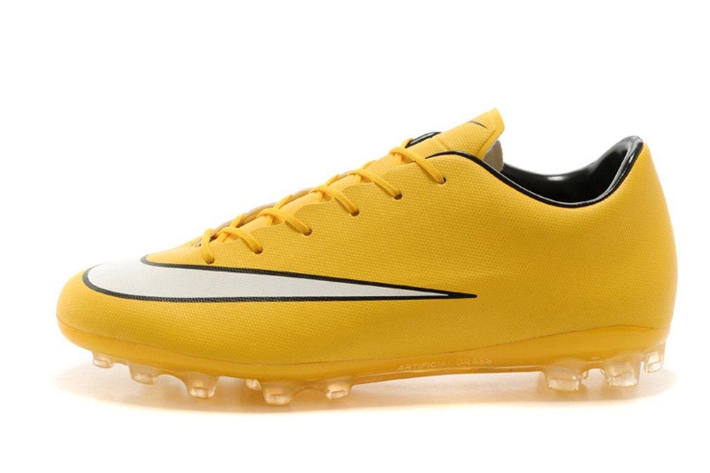 Herren Mercurial X VICTORY V AG – Laser orangeWeißschwarz Niedrig Fußball Schuhe Fußball Stiefel