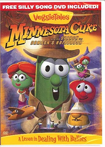 Veggie Tales DVD - Minnesota Cuke and the Search for Samson's Hairbrush with Bonus DVD Featuring 10 Silly (Veggie Tales Hairbrush)