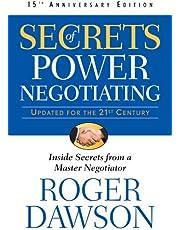 Secrets Of Power Negotiating 15th Anniversary Edition