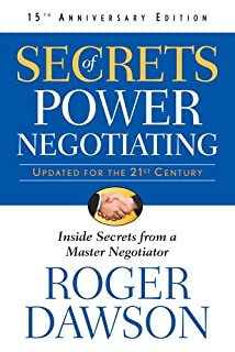 Secrets Of Power Negotiating 15th Anniversary Edition (1601631391) | Amazon price tracker / tracking, Amazon price history charts, Amazon price watches, Amazon price drop alerts