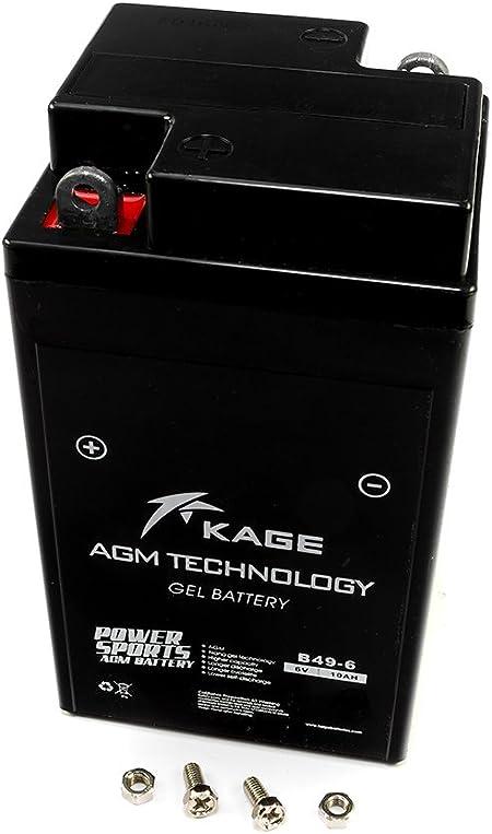 Gel Battery Kage 6 Volt B49 6 For B M W Vespa Auto