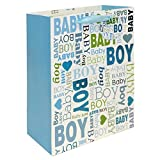2 pc BabyShower & Birthday Premium Large Gift bags for Baby Boy