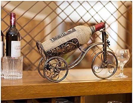 Amadoierly Coche En Forma De Vinoteca Vino Gabinete Decoraciones Salón Decoraciones Retro Artesanías De Hierro