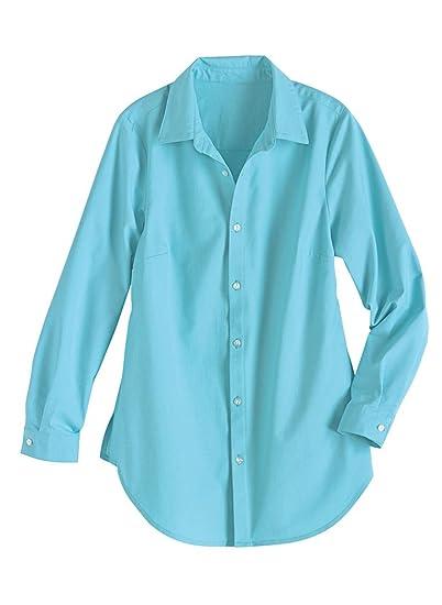 dd034c248647a5 AmeriMark Linen Big Shirt at Amazon Women's Clothing store: