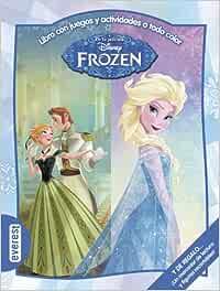 Frozen. Libro Con Juegos Y Actividades A Todo Color