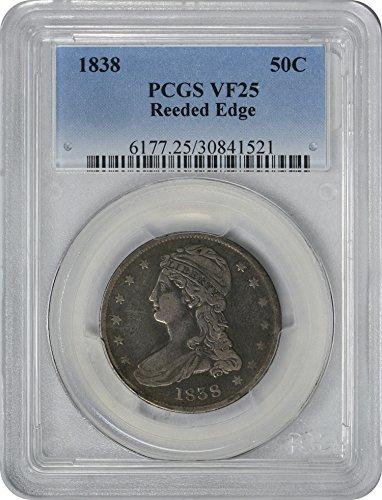 1838 Bust Half Cent VF25 PCGS