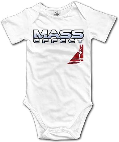 Body de bebé Unisex Camiseta de Mameluco de Manga Corta con Logotipo Mass Effect Alliance N7: Amazon.es: Ropa y accesorios