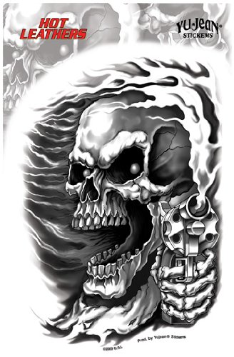 Hot Leathers - Assassin Skull - Sticker / Decal for sale  Delivered anywhere in USA
