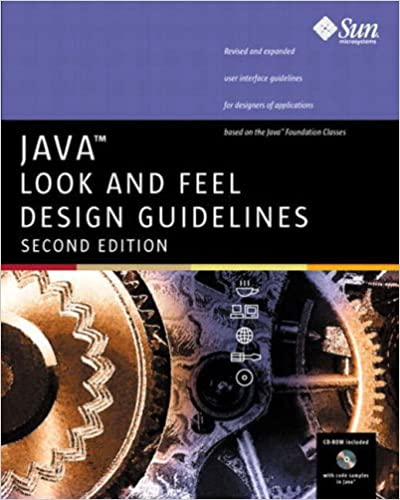 Java Look And Feel Design Guidelines 2nd Edition Pdf