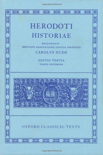 Herodoti Historiae, Volume II: Books V-IX (Oxford Classical Texts) (Greek Edition)