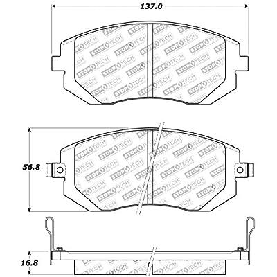 StopTech 309.09290 Street Performance Front Brake Pad: Automotive