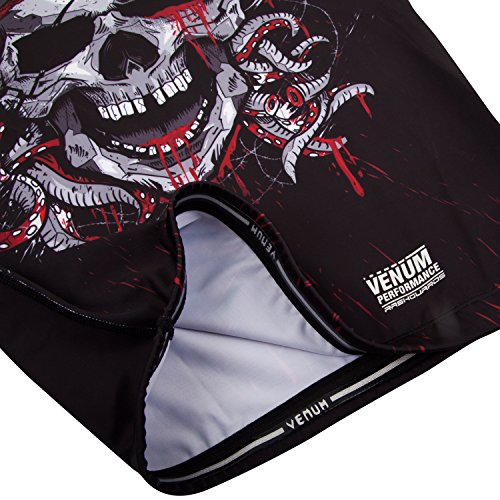 Venum Pirate 3.0 rashguard - Long Sleeves - M, Black/Red, Medium