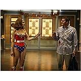 Bones 8 x 10 Photo David Boreanaz as Nerd Emily Deschanel as Wonder Woman kn
