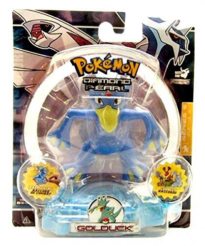 Pokemon Diamond & Pearl Series 5 Basic Figure with Battle Link - Golduck - Munchlax Pokemon Diamond