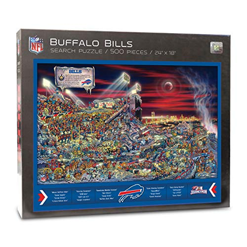 NFL Buffalo Bills Joe Journeyman Puzzle - 500-piece