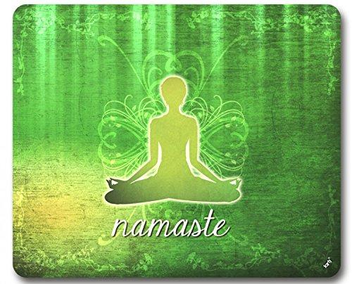 1art1 Yoga - Namaste Alfombrilla para Ratón (23 x 19cm ...