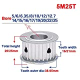 5M 25T Timing Belt Pulley 5mm Pitch Gear