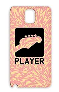 Black Band Rock Sing Rocker Riff Player Rock Metal Chords N Roll Guitar Live Music For Sumsang Galaxy Note 3 F1 Cover Case