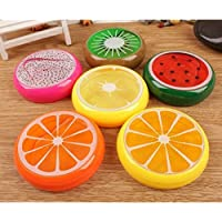 Worthy Shoppee Non Toxic Crystal Fruit Clay Slime, Colorful DIY Toy, Creative Rubber Soft Mud -Set of 1 Assorted Colors