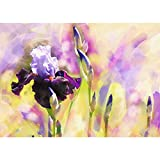 Jigsaw Puzzles for Adults, 300-3000 Pieces Oil Painting-Purple Flower Puzzle, Educational Games Toys Birthday Gift (Size : 2000pieces)