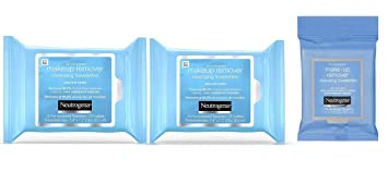 Neutrogena Makeup Remover Cleansing Towelettes, Daily Face Wipes to Remove Dirt, Oil, Makeup