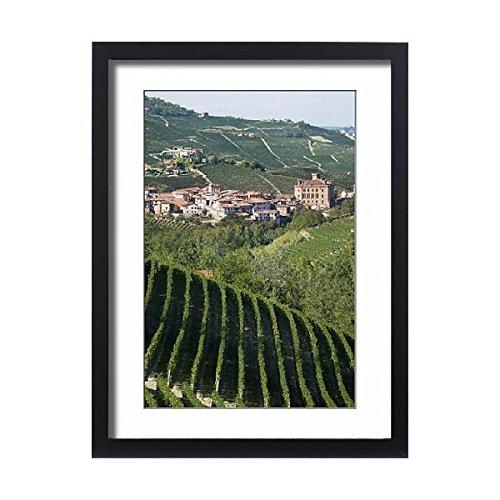 Italy Piedmont Barolo Italian - Framed 24x18 Print of Barolo, Langhe region, Piedmont, Italy, Europe (3619449)