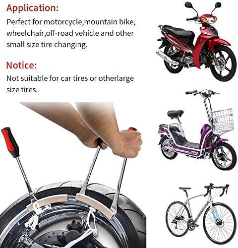 QianChen 3 Palanca de Neum/ático Tool Spoon 2Kit de Herramientas Borde Protector de Rueda Extracci/ón para Cambio Llanta de Bicicleta para Motocicleta Bicicleta