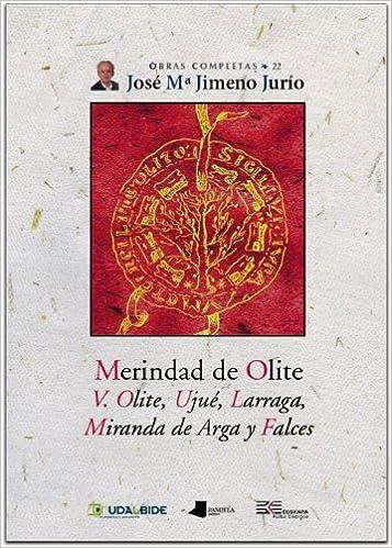 Obras Completas de José María Jimeno Jurío: Merindad de