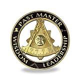Past Master Masonic Car Emblem Auto Decal Freemason