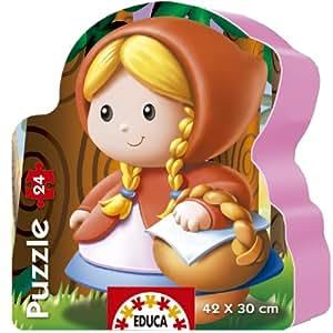 Educa Borrás 14962 - 24 Puzzle Caperucita Roja