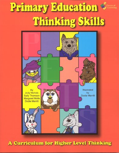 Primary Education Thinking Skills 1 (P.E.T.S.™) Updated Edition - Includes Downloadable Digital Content